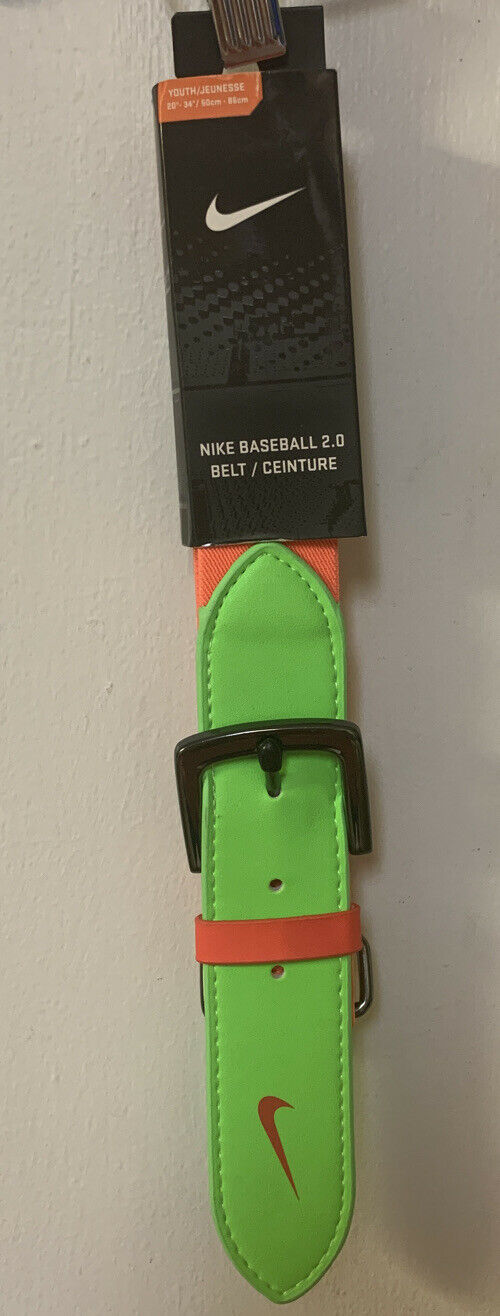 White Youth Baseball//Softball réglable élastique ceinture