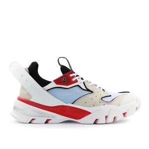 Details zu Herren Schuhe Calvin Kein Weiß Rot Calador Sneaker SS2020