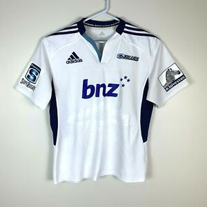 Auckland Blues Adidas Rugby Union Jersey Size Men's XL