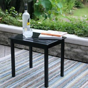 Astounding Details About Small Patio Table Side End Tables Outdoor Indoor Black Wood Sofa Couch Desk Pdpeps Interior Chair Design Pdpepsorg