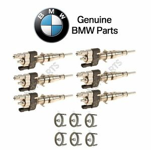 For Fuel Injector w// Seal Ring-Index 11 or Higher Genuine For BMW 135i 740Li Z4