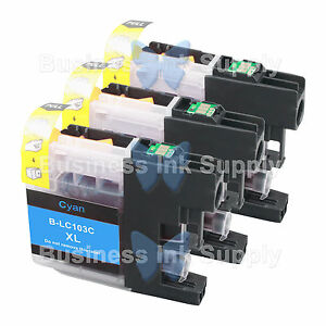 3-CYAN-New-LC103-LC103XL-LC103-for-Brother-LC-103-LC101-LC-103-LC101C-LC103C