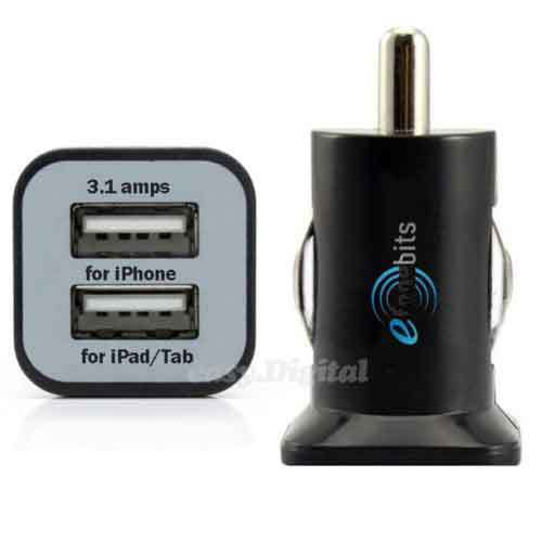 Dual USB In Car Charger Twin Port Mini Adapter for Samsung Galaxy S6 S6 Edge S5