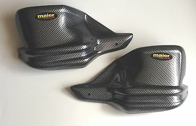 BMW R1200GS 2013+ R12GS ADV F800GS ADV 2014+ Carbon Look Hand Guard Extensions