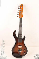 4/4 Electric Violin Guitar Head stock Solid wood 6 string Fret Inlaid #1623
