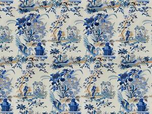 Image Is Loading Brunschwig Amp Fils Chinoiserie Le Lac Toile Fabric