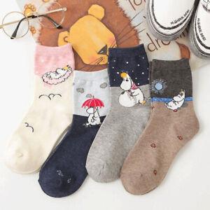 Harajuku Embroidery Woman Neutral Tube Autumn Winter Cotton Sweat ladies Socks