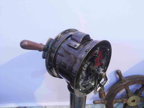 Ship Telegraph Chadburns Liverpool London Vintage Ship Brass Telegraph Antique