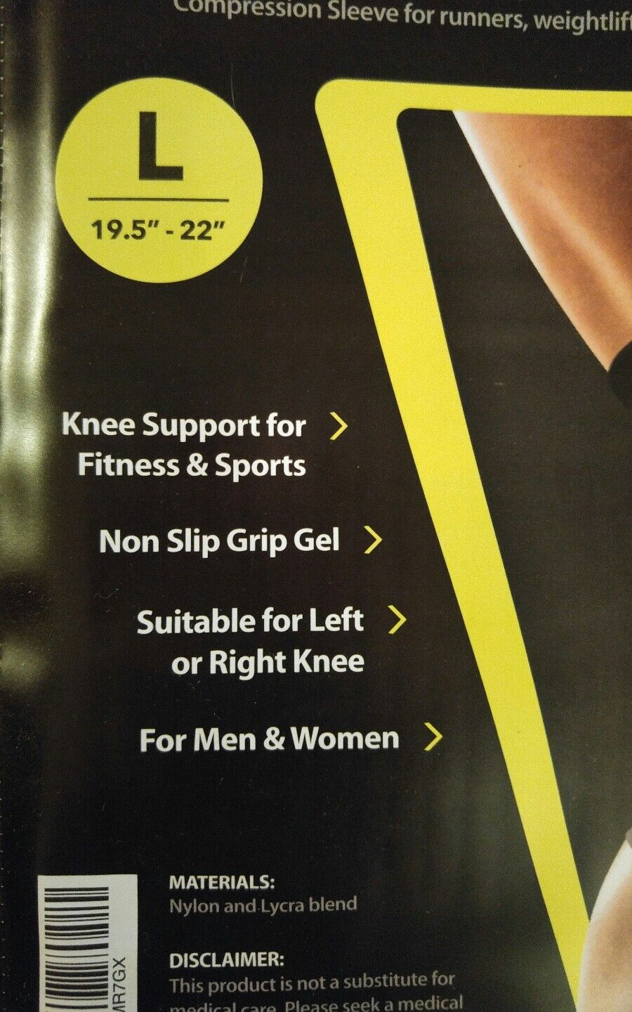 Compression Knee Brace Knee Support For Sports Injury Prevention Joint Pain Rel 3