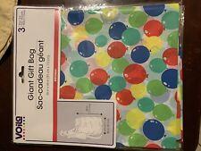 91cm x 111cm Voila Giant Gift Bag 36in x 44 in NWT