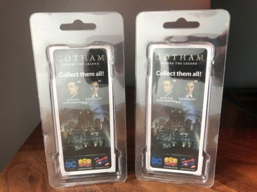 Pin Mate Gotham TV Series The Penguin /& INSPECTEUR James Gordon Lot de 2