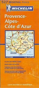 Provence Map Of France.Michelin Map Provence Alpes Cote D Azur Michelin Map 527 French