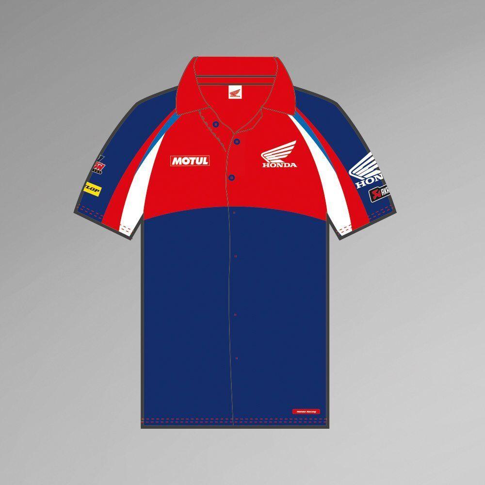 Official Team Honda Endurance Racing Team Pit Shirt - 17