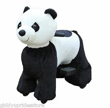 MOTORIZED RIDE ON TOYS FOR KIDS ((PANDA)) 3-10 YRS - RECHARGEABLE BATTERY