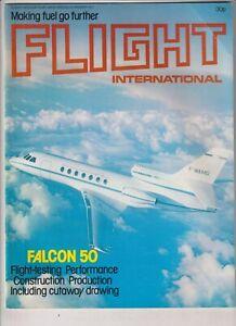 Flight International Mag Falcon 50 Flight Testing January 29 1977 022120nonr