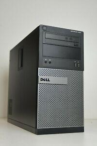 Dell OptiPlex 390 Tower Intel i3-2100 3.1GHz 500GB 4GB DDR3 HDMI Windows 10 WIFI