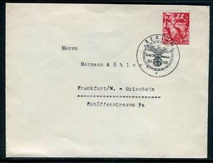 Allemagne - Enveloppe De Berlin Pour Frankfurt En 1938 - M 87 DernièRe Mode