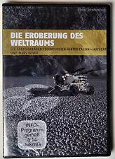 DVD - Die Eroberung des Weltraums - ROBOTER Technologien Mars Rover Fahrzeug All