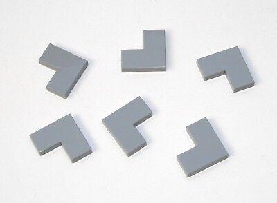 20x LEGO® Platte 1x2 mit 1 Noppe//Griffkante Konverter Jumper 15573 NEU Hellgrau