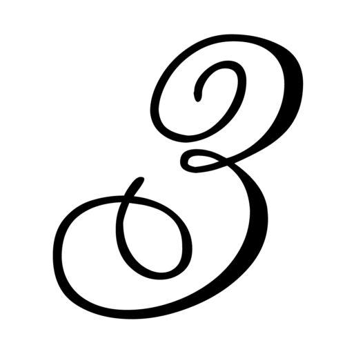 Numéro de maison porte autocollant boîte aux lettres nombre numéro numéro de départ chiffres Alex