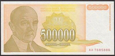 YUGOSLAVIA-10000000  DINARA 1994  P 144  LOT  2 PCS  Uncirculated Banknotes