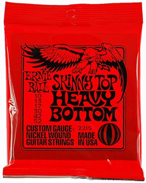 Ernie Ball 2215  Skinny Top Heavy Bottom 010-052