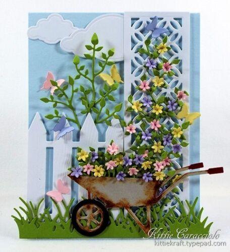 DIE140-D -Spring-Steel Dies TINY FLOWERS DIE-Impression Obsession//IO Stamps