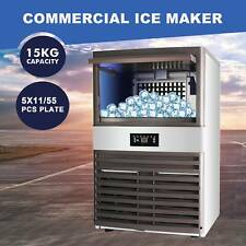 Auto Built In Commercial Ice Maker Undercounter Restaurant Ice Cube 33lb 160lbs