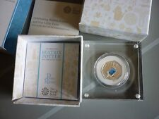 BEATRIX POTTER 2017 PETER RABBIT SILVER PROOF 50p COIN Ltd Ed IN HAND