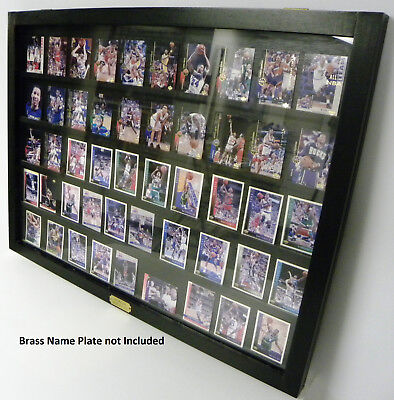 Wallmount Sports Card Display Case For Ungraded Cards B Ebay