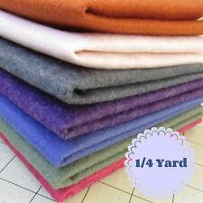 1/4 Yard Merino Wool blend Felt 35% Wool/65% Rayon - Cut to order