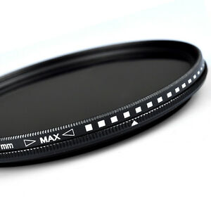 ZOMEI-52-55-58-62-67-72-77-82mm-Adjustable-Neutral-Density-Fader-filter-ND2-400