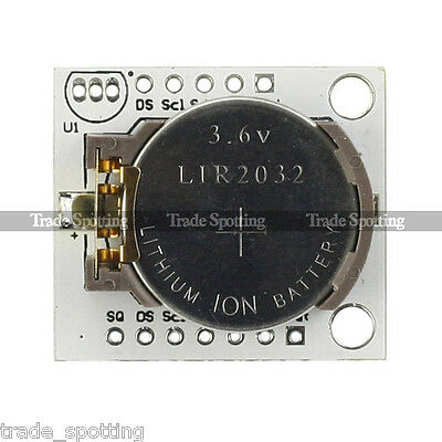 I2C RTC DS1307 AT24C32 Real Time Clock For Arduino UNO Mega2560 R3 AVR PIC ARM