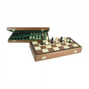Chessbox - Champ acajou taille 42mm King hauteur 64