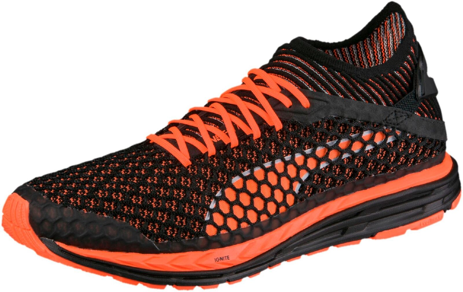 ed0cee0239d9b7 PUMA Speed Ignite Netfit Men s Running Shoes Black Uk10 for sale ...