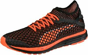 0fe2f41b6c2ab Image is loading Puma-Speed-Ignite-Netfit-Mens-Running-Shoes-Black