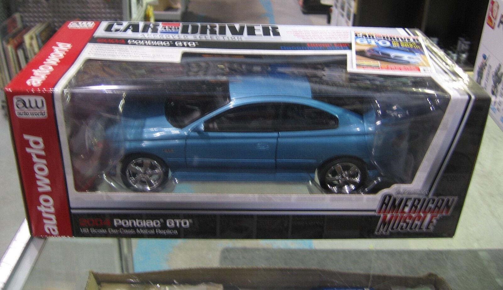 Auto World 1 18 2004 Pontiac GTO AMM1025