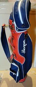 Dettagli su Hogan Sacca da Golf, Borsa Portamazze 2 Mazze Fazer P e 6 e 3 palline.Vintage
