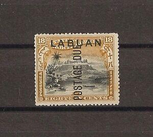 NORTH BORNEO/LABUAN 1901 SG D8 MINT Cat £40