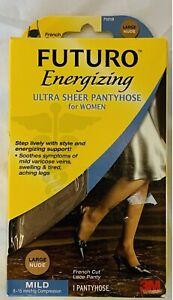 Futuro Energizing Ultra Sheer Pantyhose Medium Nude Mild