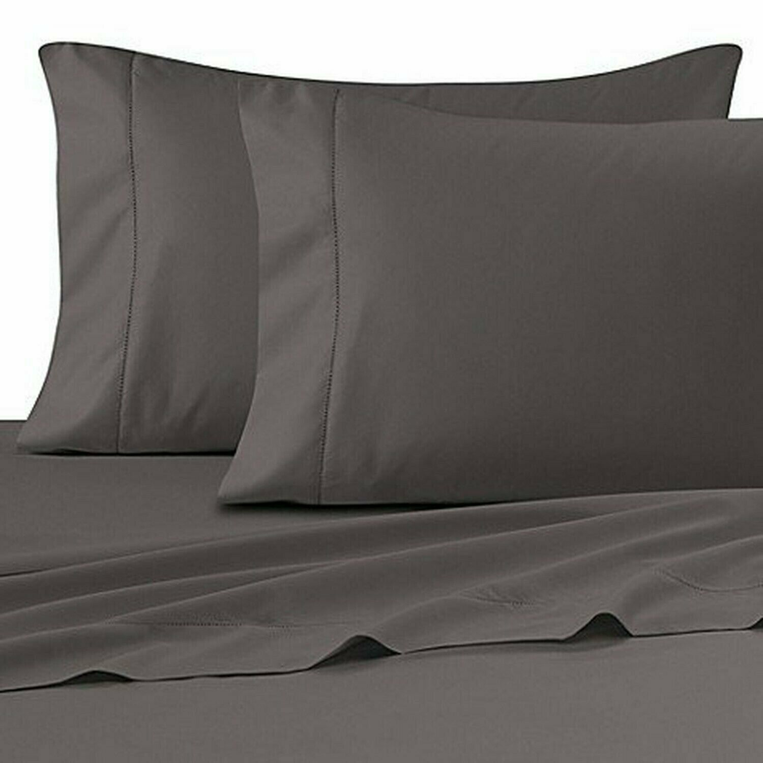 Wamsutta Ultra Soft Sateen 525 Thread Count 100% Pima Cotton Twin Fitted Shee...
