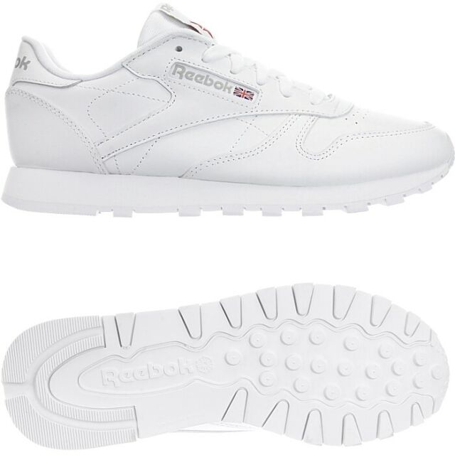 Reebok Classic Leather Damen Sneakers Weiß, EU 36