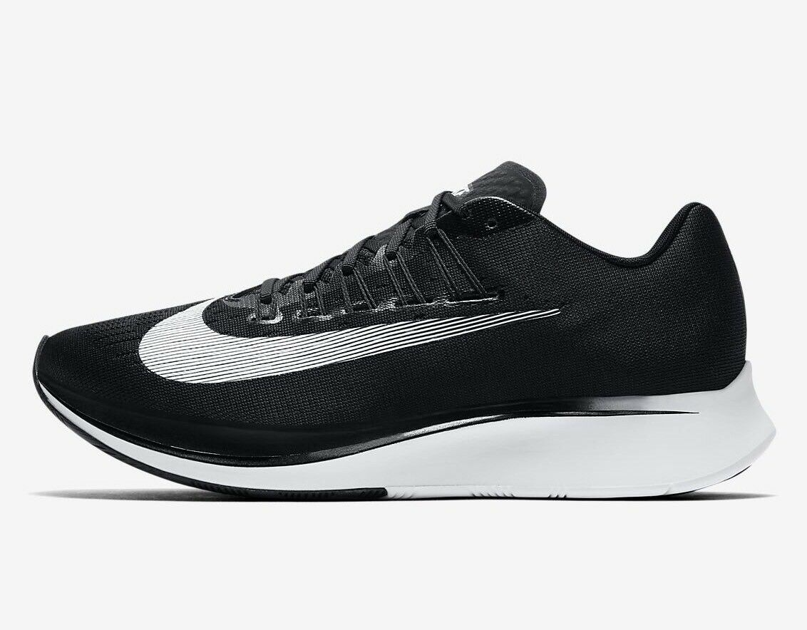 Nike Zoom Fly Black White Mens Trainers All Sizes New With Box