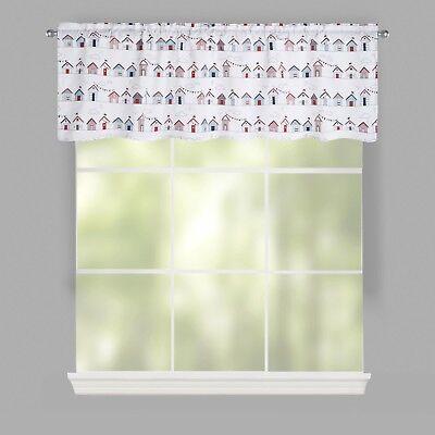 Beach House Row Window Valance