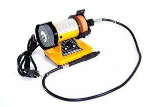 3 Quot Mini Bench Grinder With Flex Shaft Grinding Tools