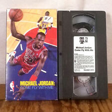 Michael Jordan Come Fly With Me NBA VHS Movie Tape highlight reel film CBS FOX