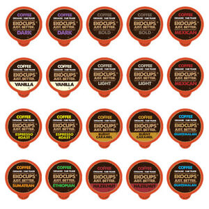 EKOCUPS-Organic-and-Fair-Trade-Gourmet-Coffee-for-Keurig-k-cup-brewers-20-Count