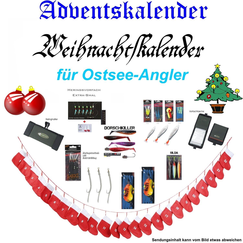 Advent Calendario calendario Natale Per PESCATORE variante  Mar Baltico