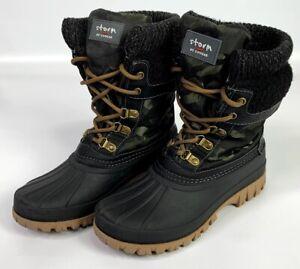 Green Camo Duck Boots Size 6 EUC | eBay
