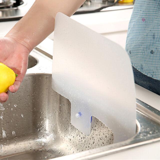 Hot Useful Kitchen Wash Basin Sucker Sink Plastic Water Splash Baffle Board